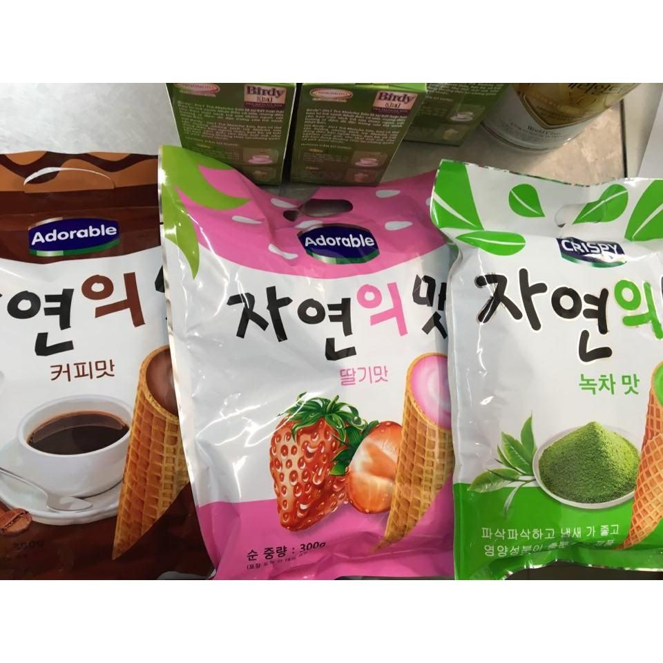 Combo 5 gói bánh Ốc quế Hàn Quốc (khách có thể chọn vị)