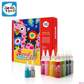 (đang bán) bộ dụng cụ vẽ tranh cát cho trẻ em
