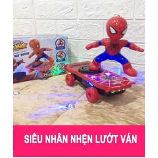 Bộ ván trượt siêu nhân người nhện cho bé h232