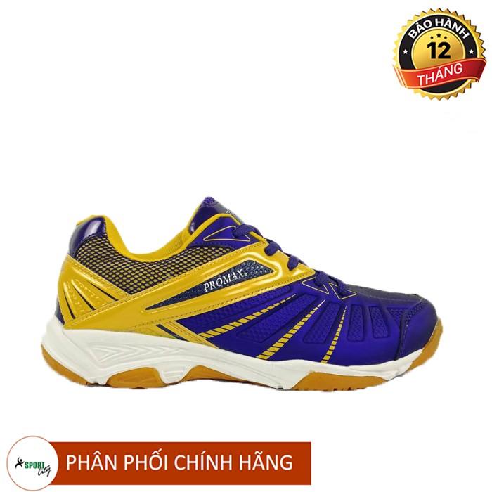 Giày cầu lông - giày thể thao Promax PR19001 chính hãng, chuyên nghiệp (Màu tím vàng)