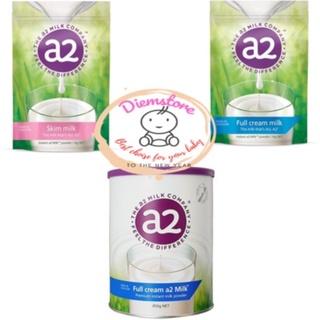 Sữa bột A2 Nguyên kem/Tách béo của Úc 1kg