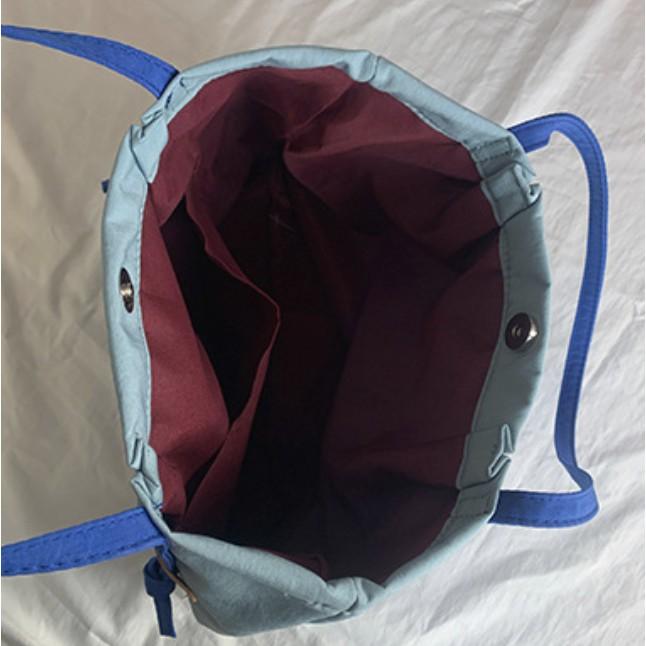 Túi tote bằng nylon canvas chống nước cỡ lớn dành cho nữ
