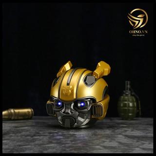 Loa Bluetooth Siêu Anh Hùng Bumblebee Transformer Mắt Có Đèn Led Xanh, Nghe Nhạc Sống Động, Hàng Chính Hãng thumbnail