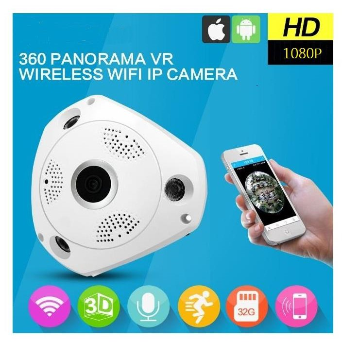 CAMERA WIFI 360 IP VR CAM 3D