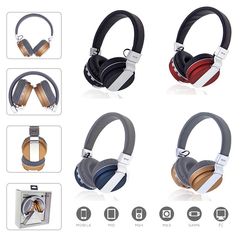 Tai nghe không dây, tai nghe chụp tai, Tai nghe Bluetooth chụp tai FE018
