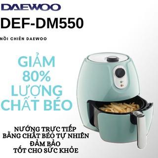 Nồi chiên không dầu Daewoo DEF-DM550