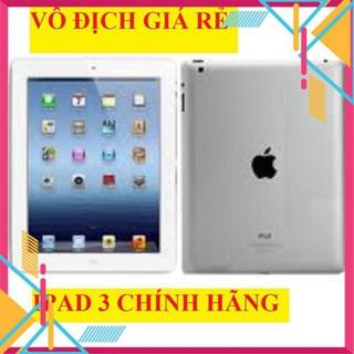 Máy Tính Bảng Ipad 3 zin Chính Hãng apple, màn hình 9.7inch, chơi Tiktok Zalo Fb Youtube thumbnail