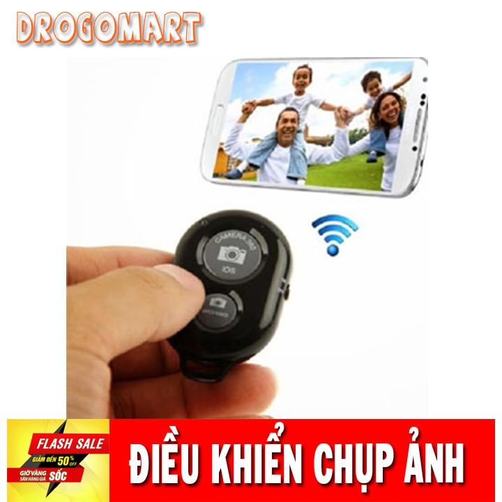 ( FREESHIP 99K ) Điều khiển bluetooth Remote chụp ảnh từ xa cho điện thoại