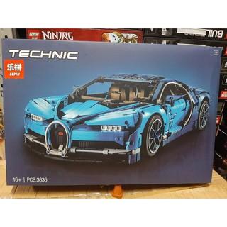 Đồ chơi xếp hình Non Lego Bugatti Chiron Lepin 20086 68001