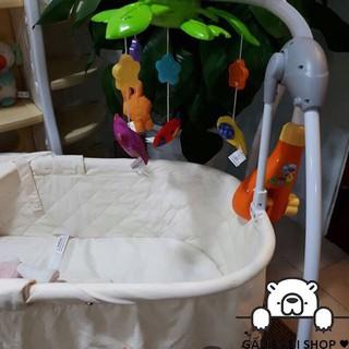 [HÀNG CHUẨN] Treo nôi cũi hình các con thú vui nhộn Winfun 0845 cực đáng yêu cho bé