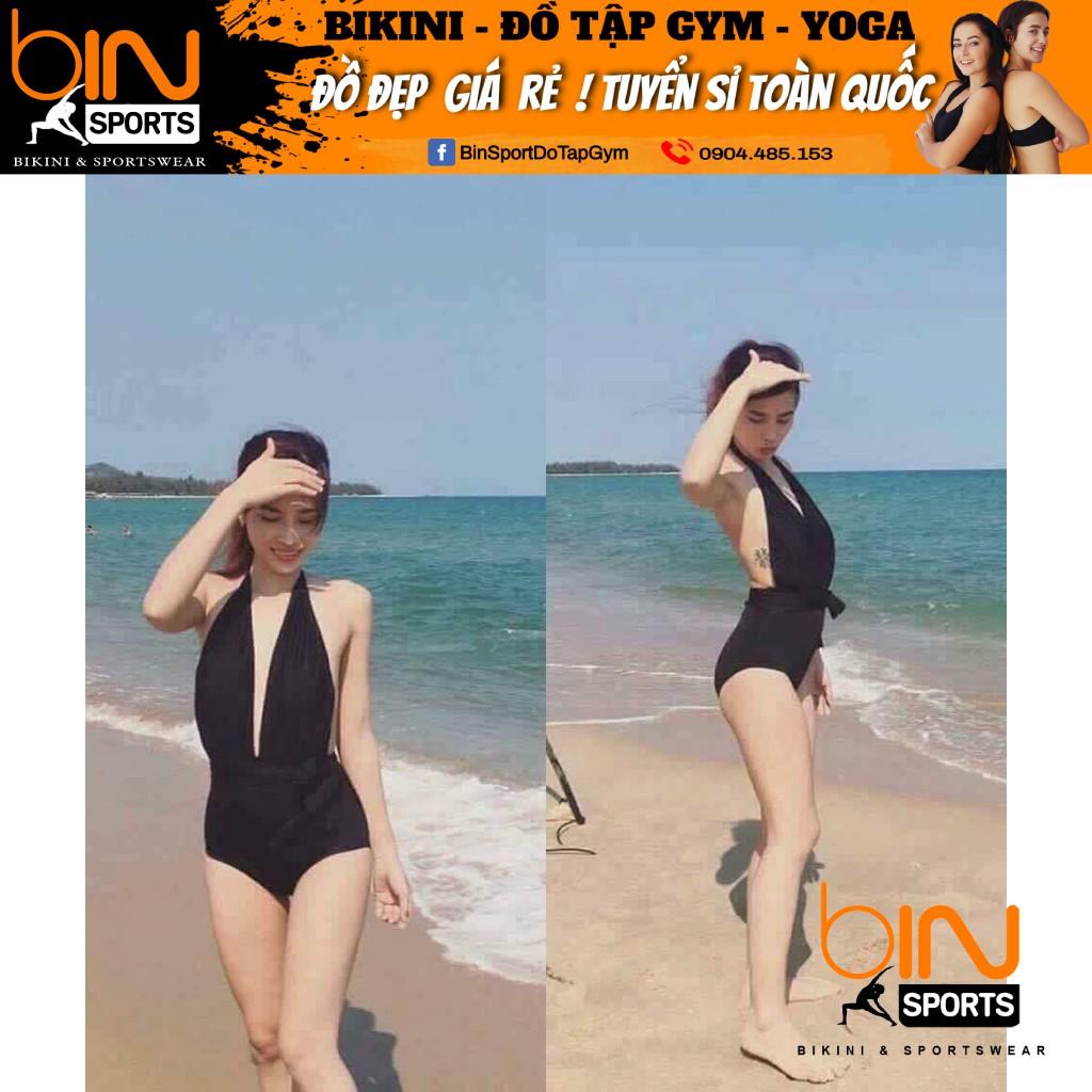 Bikini,Bộ Đồ Bơi Một Mảnh Xẻ Ngực Sexy BHV002