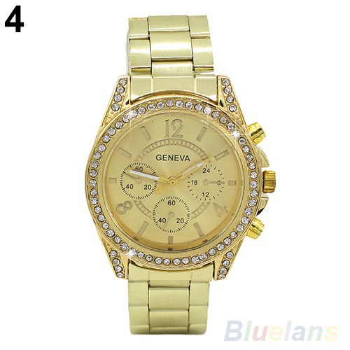 Đồng hồ Quartz Analog đính đá dành cho nữ