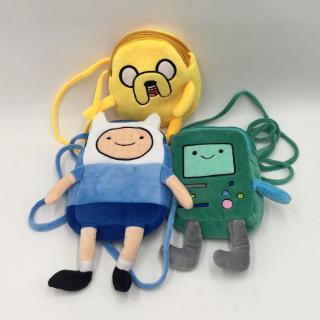 Adventure Time Beemo BMO Plush Backpack Book Rucksack Kids Shoulder Bag Toys