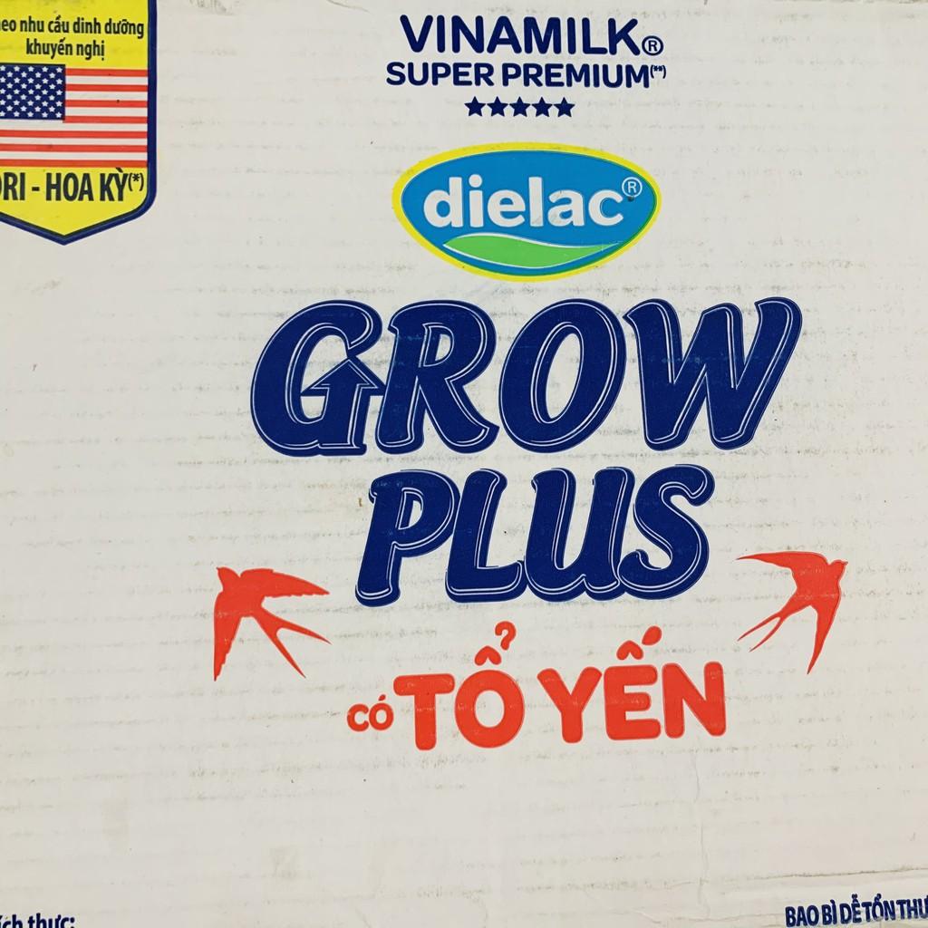Thùng sữa dielac GROW PLUS CÓ TỔ YẾN 48x180ML