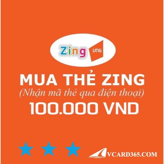 Mã Thẻ Zing 100k