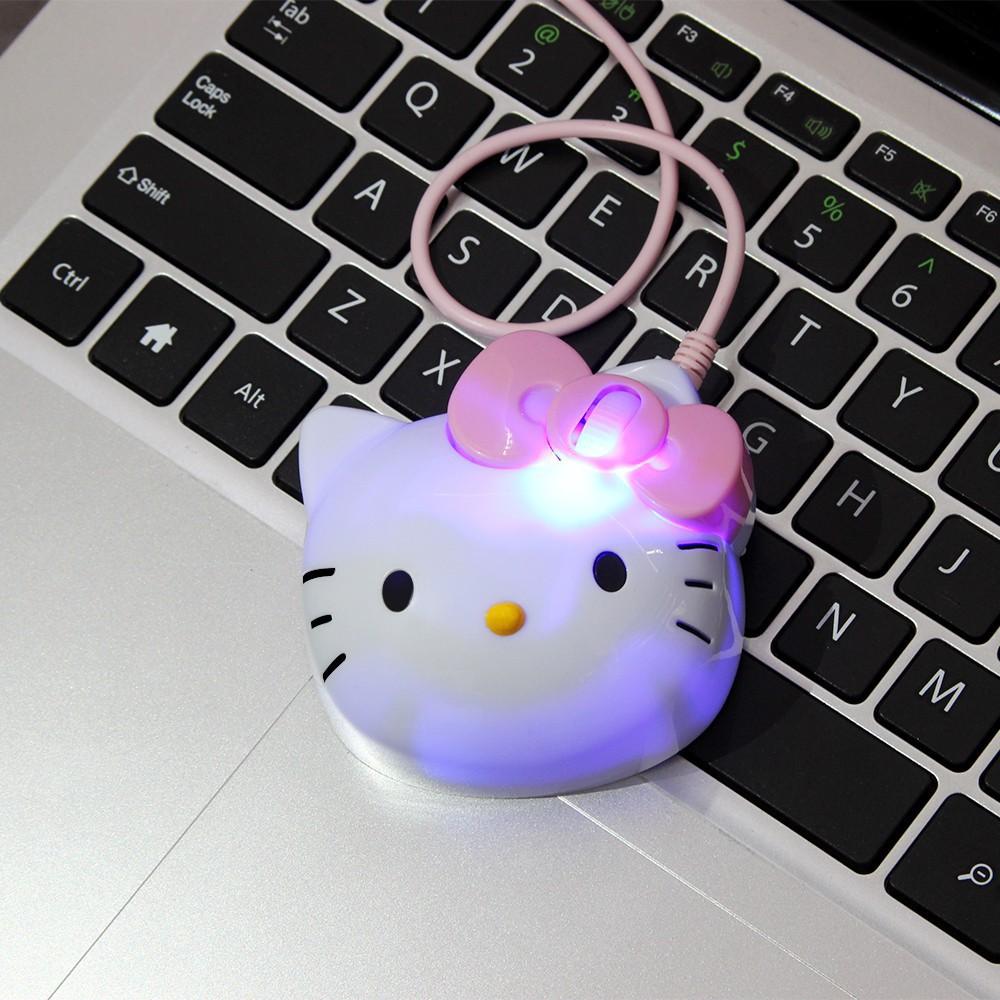 Chuột Quang Mini Hello Kitty