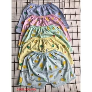 Quần đùi cotton họa tiết ngộ nghĩnh, đáng yêu cho bé – Cam kết hàng loại 1