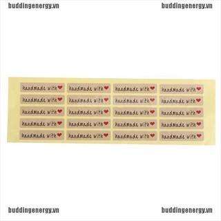 Set 100 Miếng Sticker Chữ Nhật Dùng Để Trang Trí Thủ Công Tiện Dụng