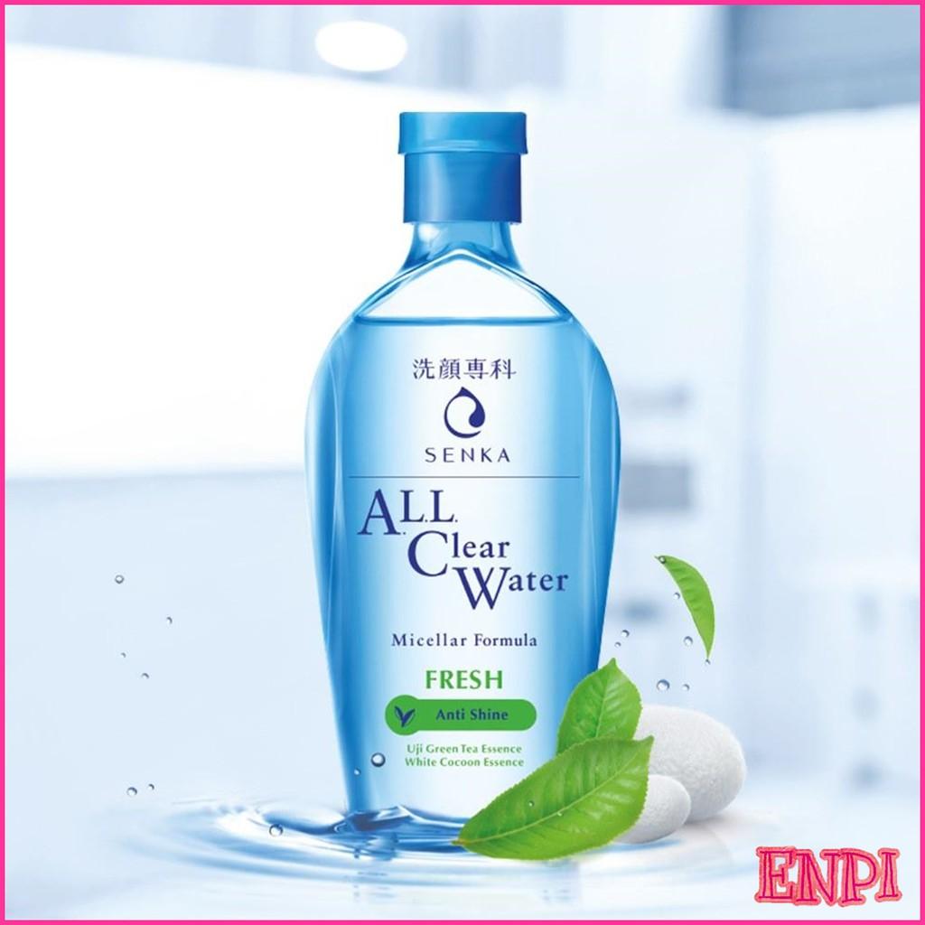 Nước tẩy trang Micellar Senka ALL Clear Water Fresh