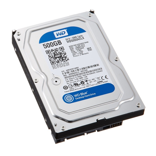 Ổ cứng 500g Western pc