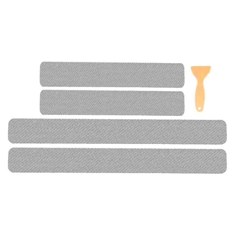 Miếng Dán Sợi Carbon Màu Vàng Chống Trầy Xước Cho Cửa Xe Hơi