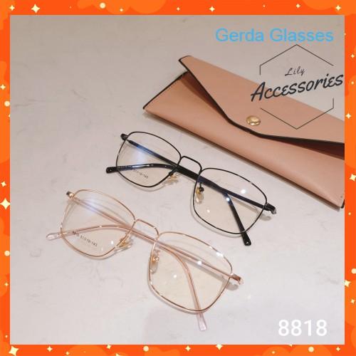 Cắt kính mắt cận-loạn Gọng kính cận 8818