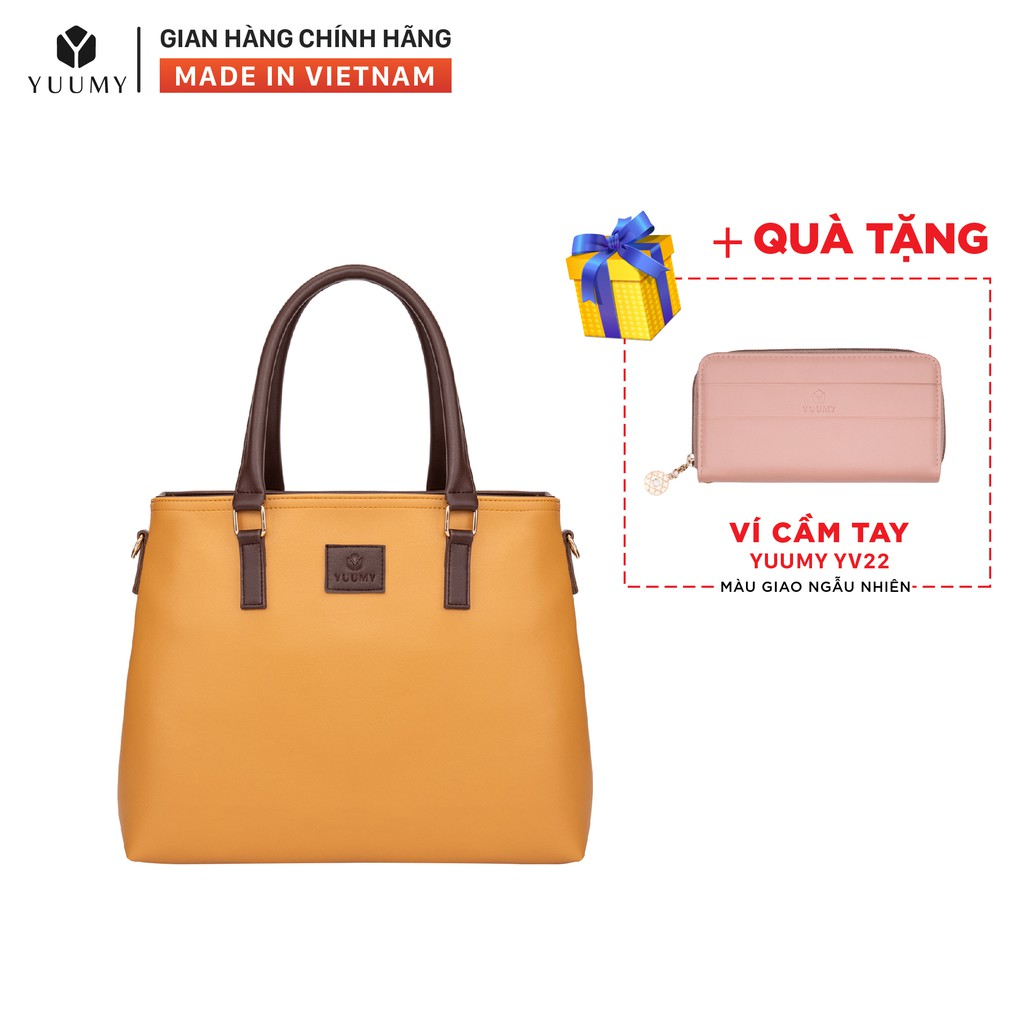 Túi xách nữ thời trang YUUMY YTX11 nhiều màu (Tặng ví cầm tay YV22)