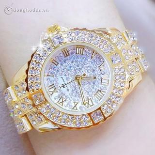 Đồng hồ nữ MS DIAMOND JAMIE Đính Đá Siêu Đẹp, Chống Nước, Tặng Hộp & Pin thumbnail