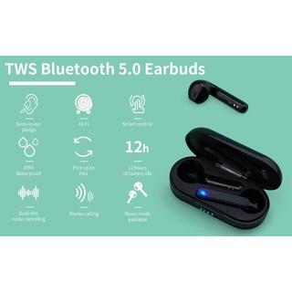 Tai nghe bluetooth TWSL8 cao cấp, tai nghe thông minh điều khiển cảm ứng COLLEN