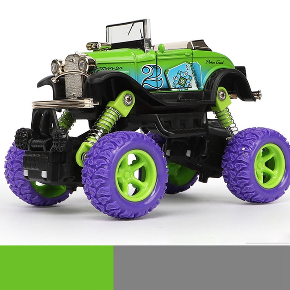 【COD】😺Inertial Off-Road Vehicle Car Model Pull Back Toys Car Boys Gift