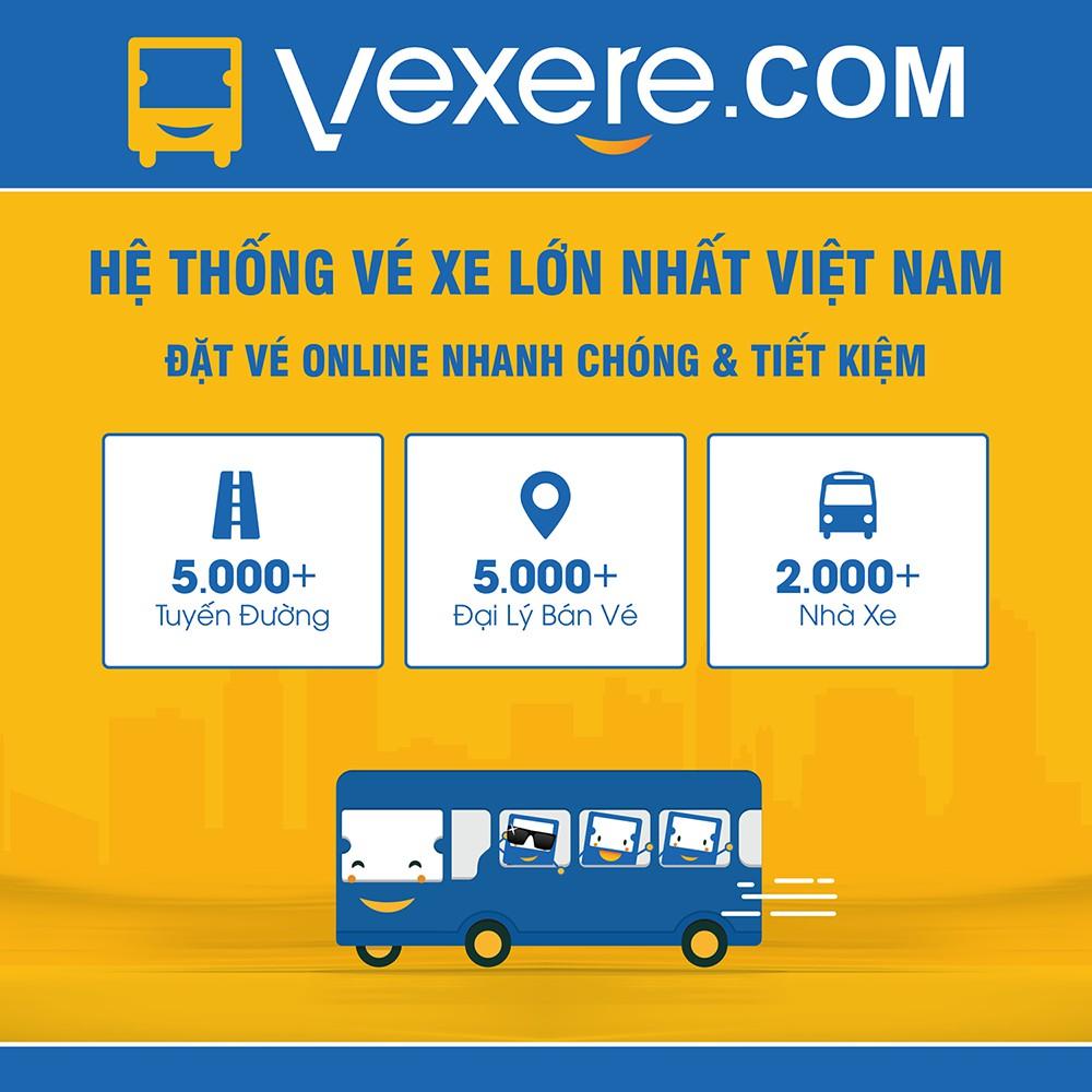 Toàn Quốc [E-Voucher] Voucher giảm 30k khi mua vé xe tại hệ thống VeXeRe