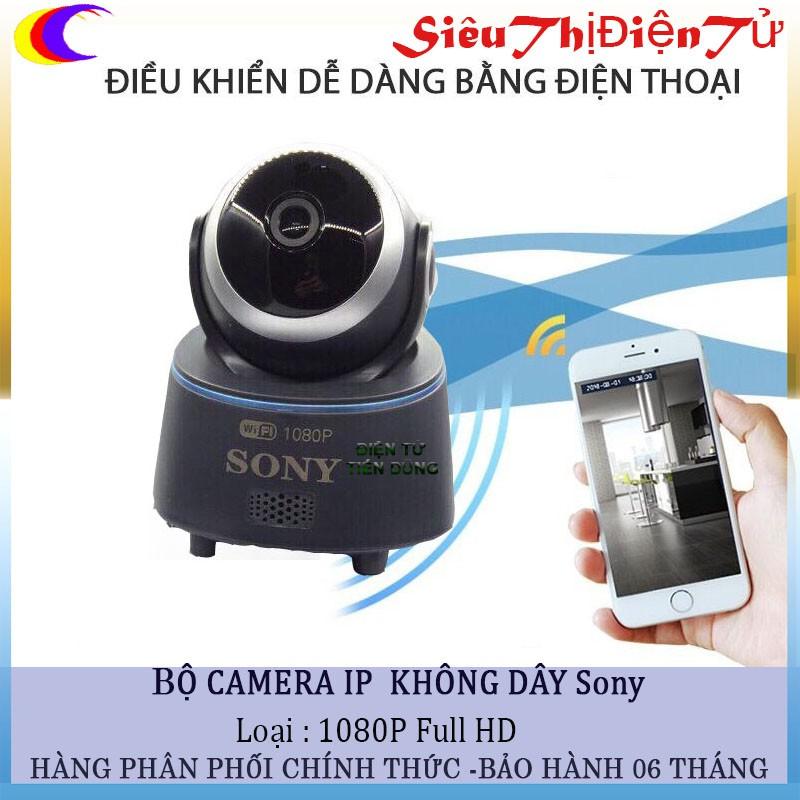 Camera Sony full HD 1080 không dây báo chống chộm