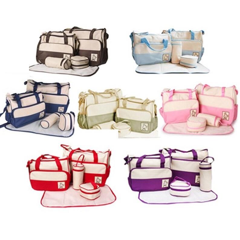 Bộ túi 5 chi tiết sành điệu cho mẹ và bé - 2759323 , 157807804 , 322_157807804 , 169000 , Bo-tui-5-chi-tiet-sanh-dieu-cho-me-va-be-322_157807804 , shopee.vn , Bộ túi 5 chi tiết sành điệu cho mẹ và bé