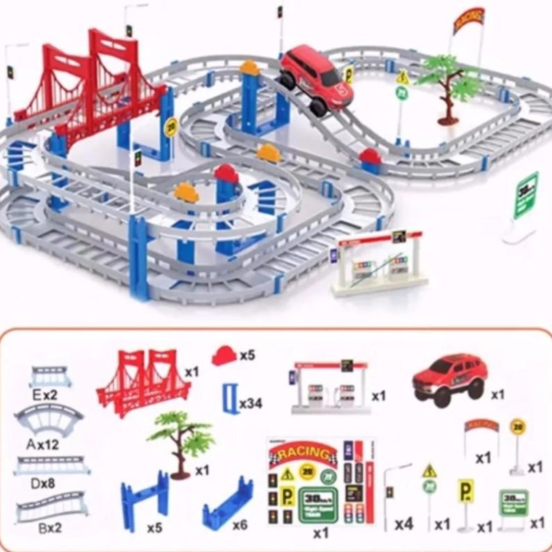 Bộ đồ chơi đường đua 56 chi tiết
