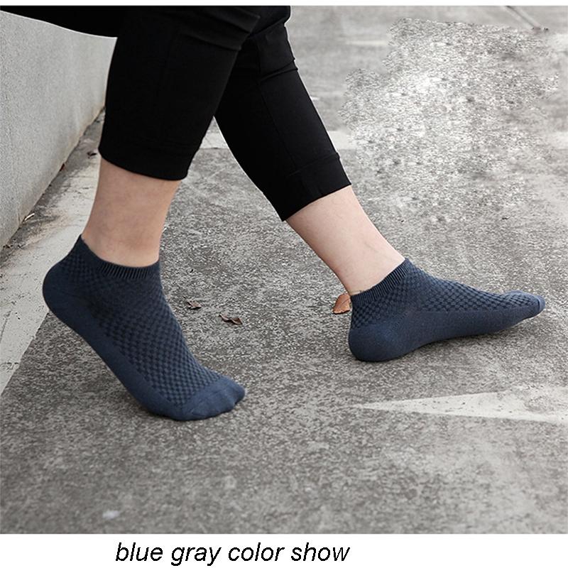 Men Bamboo Fiber Socks Breathable Compression Harajuku Long Socks Business Casual Mens Dress Sock