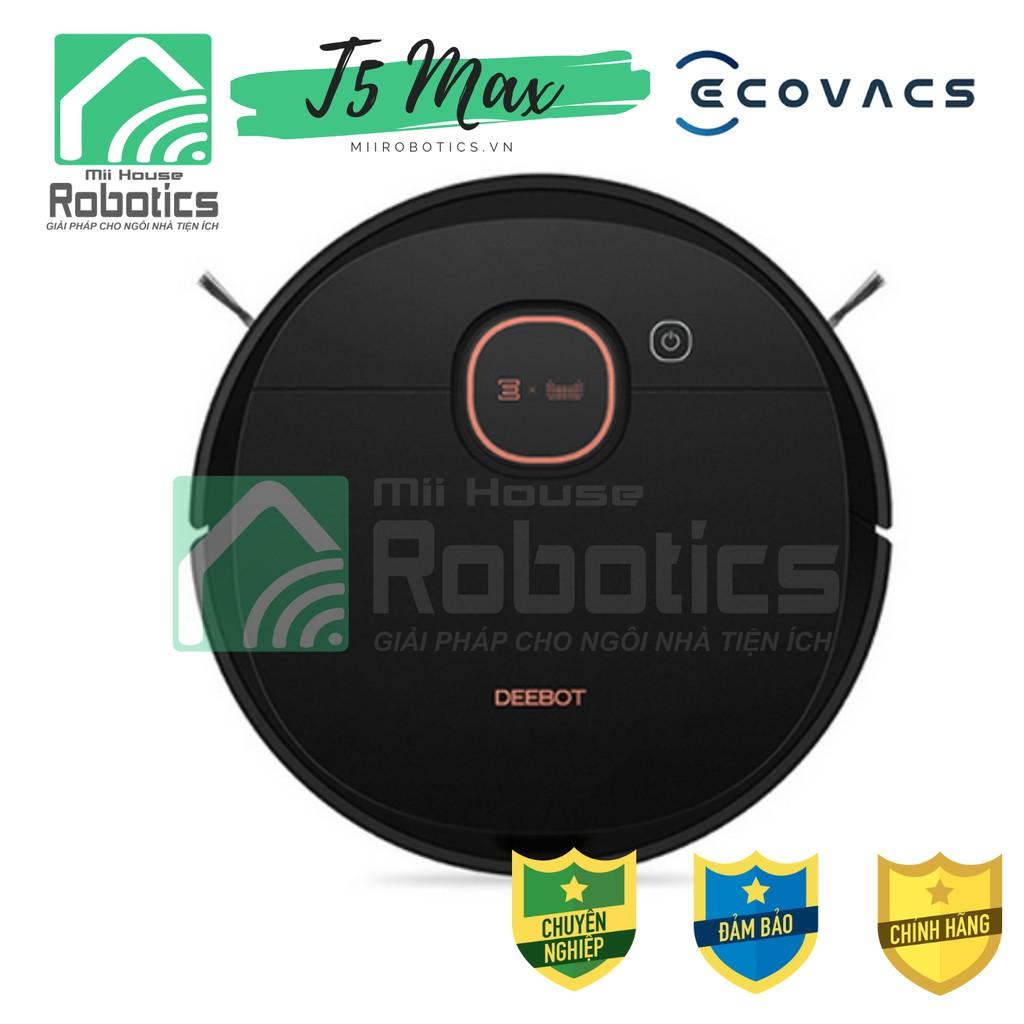 Mod 2021]Ecovacs DEEBOT T5 HERO   T5 Max Robot Hút Bụi - Robot lau nhà -  Hàng mới 100% Chính hãng - Giá tốt nhất chính hãng 5,450,000đ