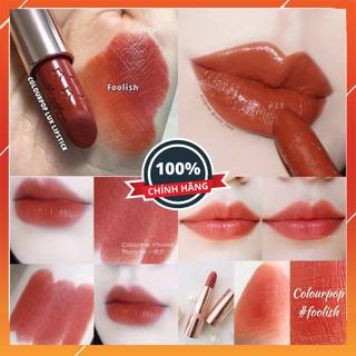 [BILL MỸ] Son thỏi dưỡng môi Colourpop Lux lipstick  - màu Foolish - son Colourpop