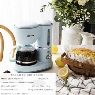 Máy pha cà phê coffee - Máy pha trà nhập khẩu thương hiệu Bear (hàng chính hãng bảo hành 1 năm)