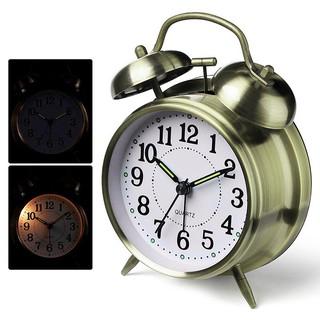 Đồng hồ báo thức quả chuông TWIN BELL cao cấp