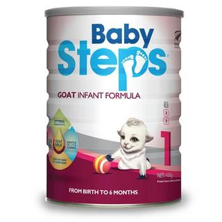 Sữa Dê Công thức Baby Steps Số 1 Goat Infant Formula 900gr thumbnail