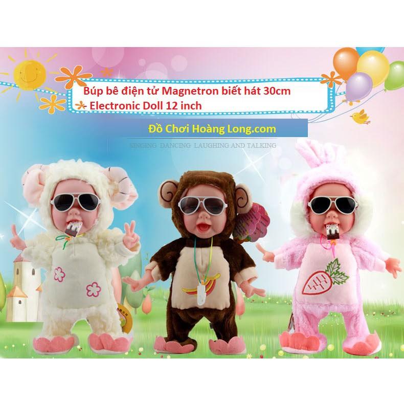 Búp bê điện tử Magnetron biết hát 30cm - Electronic Doll can Sing, Dance, Laugh and Talk 12 inch - 3499219 , 816208614 , 322_816208614 , 299999 , Bup-be-dien-tu-Magnetron-biet-hat-30cm-Electronic-Doll-can-Sing-Dance-Laugh-and-Talk-12-inch-322_816208614 , shopee.vn , Búp bê điện tử Magnetron biết hát 30cm - Electronic Doll can Sing, Dance, Laugh an