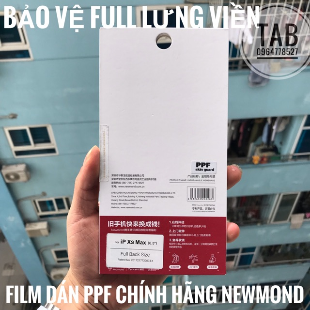 Miếng Dán PPF Chính Hãng NEWMOND - Trong Suốt Full
