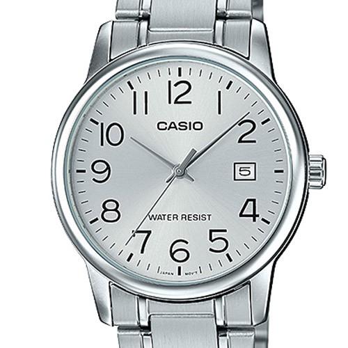 Đồng hồ nam CASIO chính hãng MTP-V002, dây kim loại