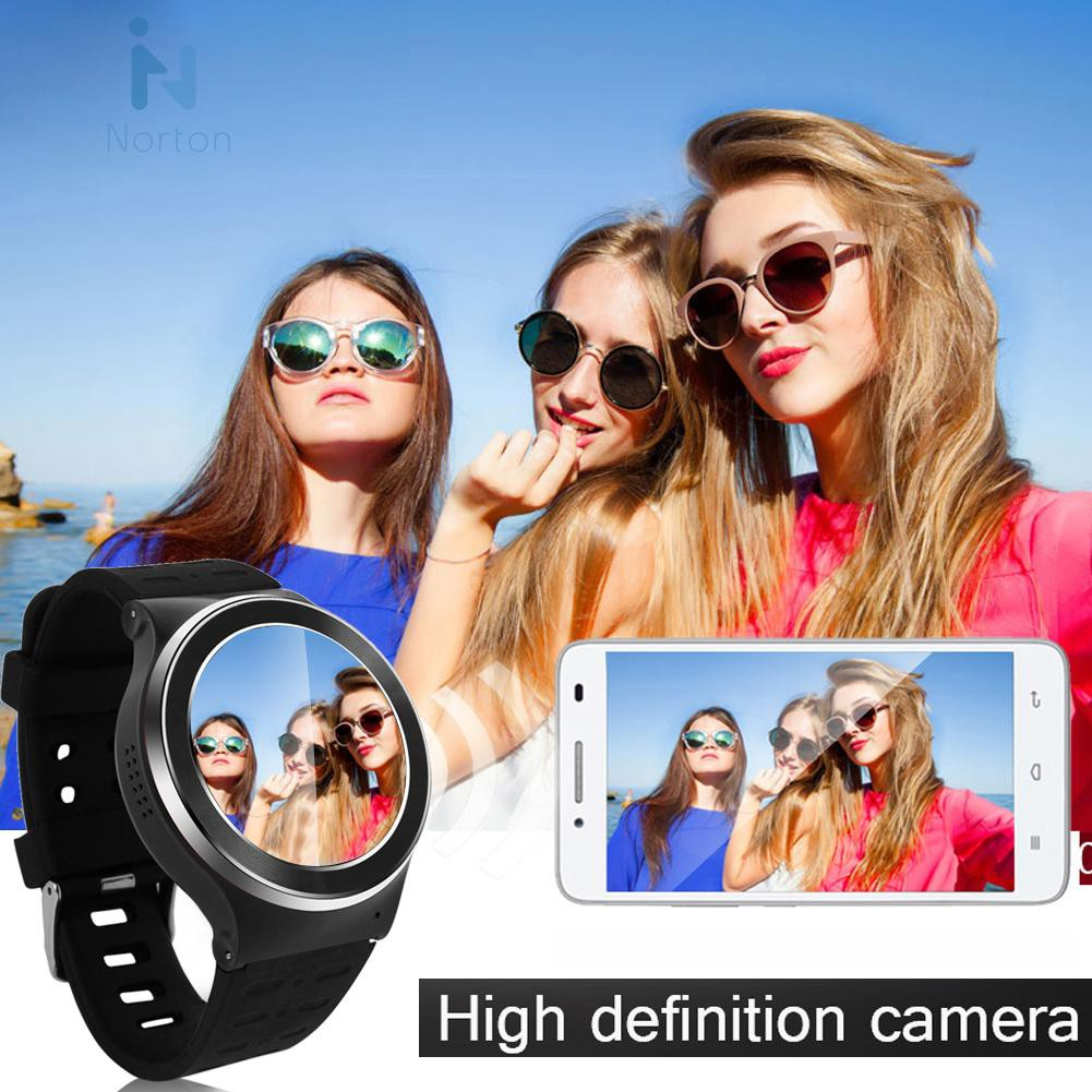 Norton❃ S99 Android 5.1 Smart Watch Phone 4-Core WCDMA MTK6580M 5MP Camera 8G App