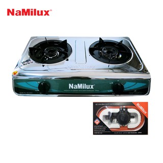 Combo Bếp gas dương Namilux NA-606ASM + Van điều áp ngắt gas tự động Namilux NA-345S-VN