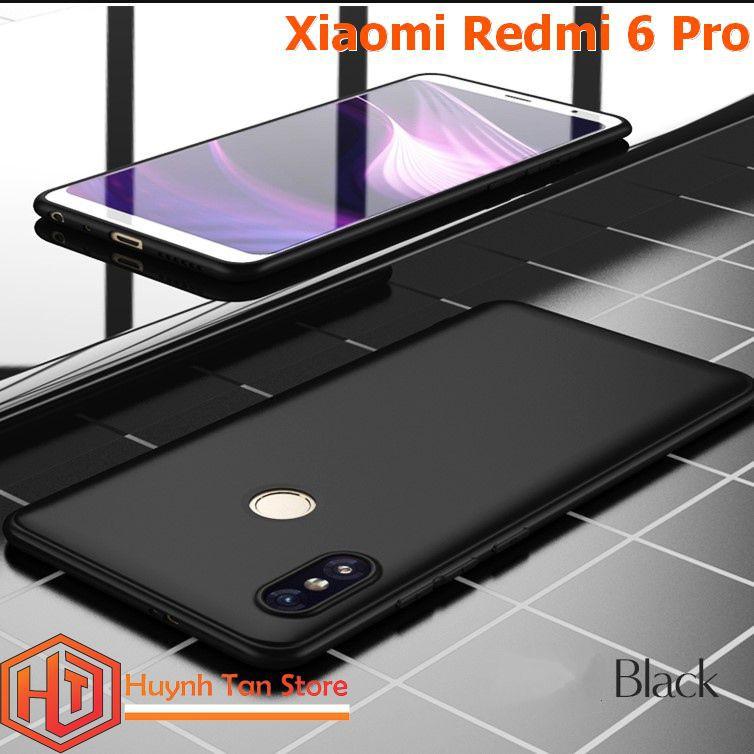 Ốp lưng Xiaomi Redmi 6 Pro dẻo tpu