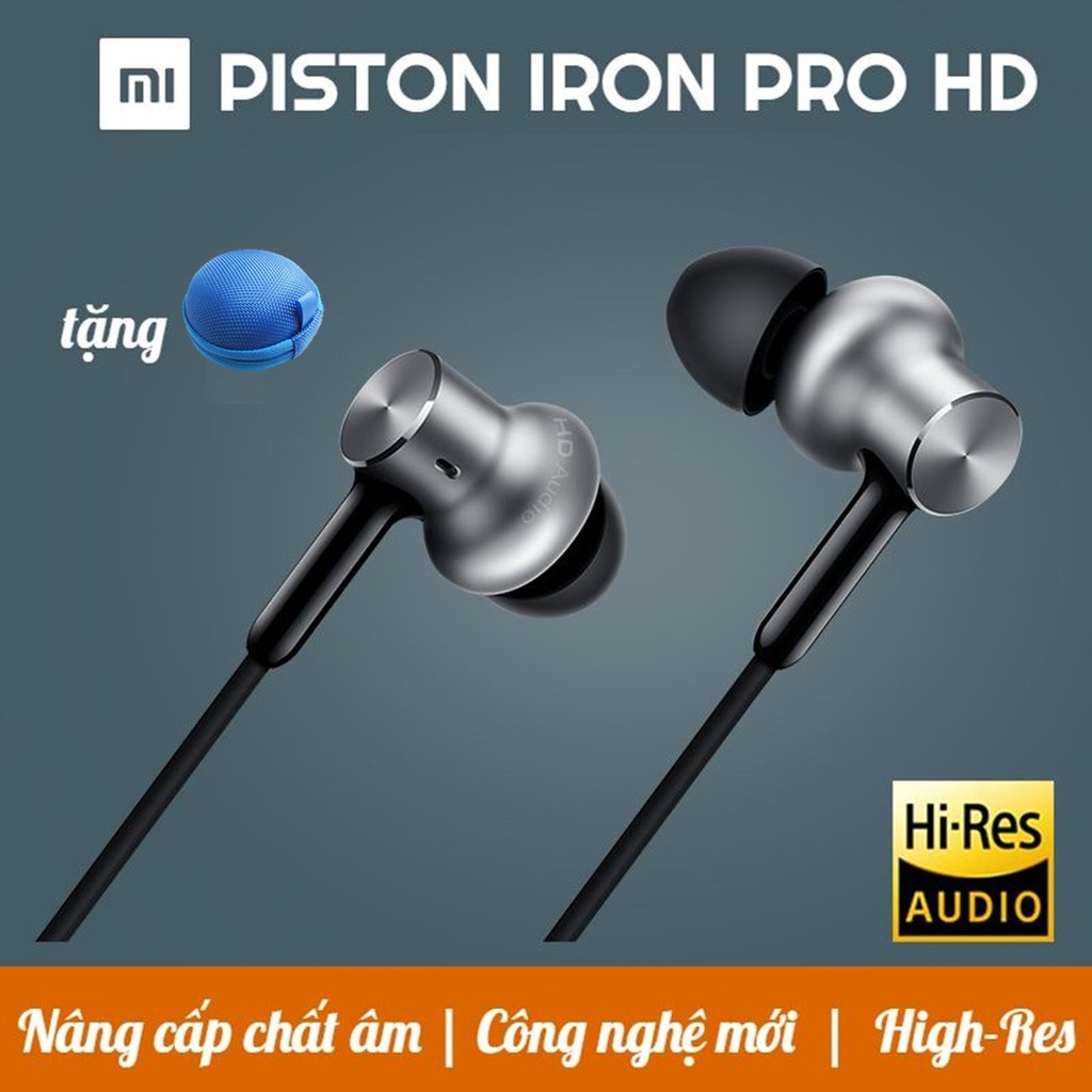 [CHÍNH HÃNG] TAI NGHE XIAOMI PISTON IRON PRO HD | Tai nghe nhét tai Xiaomi Piston Iron Pro | Tai ngh