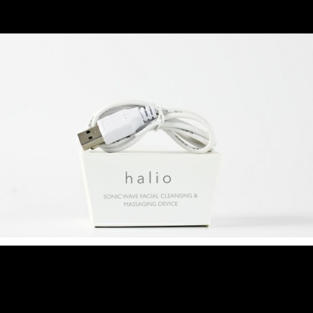 Dây sạc máy rửa mặt Halio đầu USB