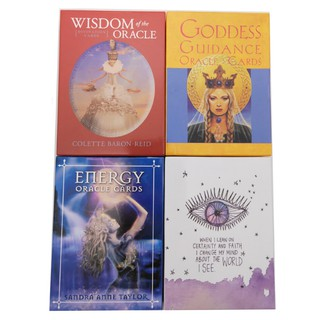 Wisdom Goddess Guidance Energy Universe Oracle Cards Divination Game Card