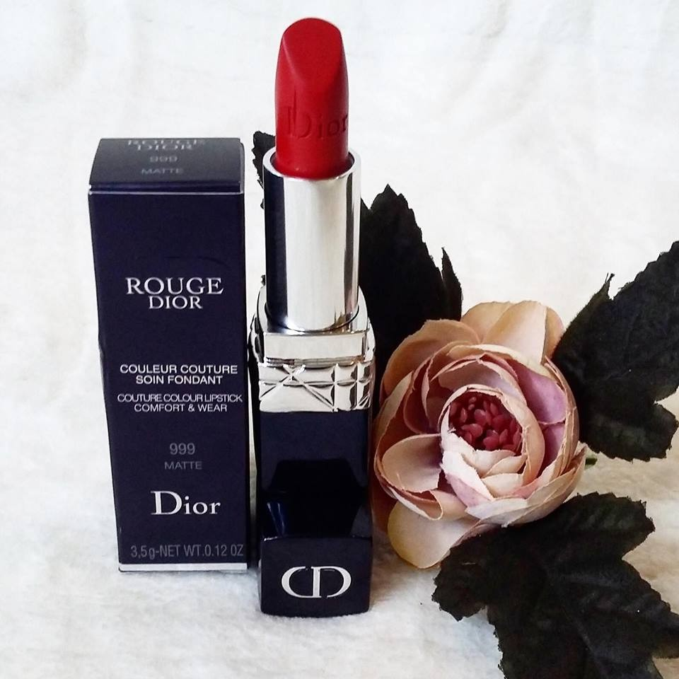 Image result for Dior Rouge Couture Colour Lipstick màu 999